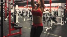 La musculation au féminin, training intense!
