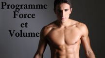 Programme de musculation force volume