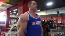 Evan Centopani: Entraînement épaules et bras
