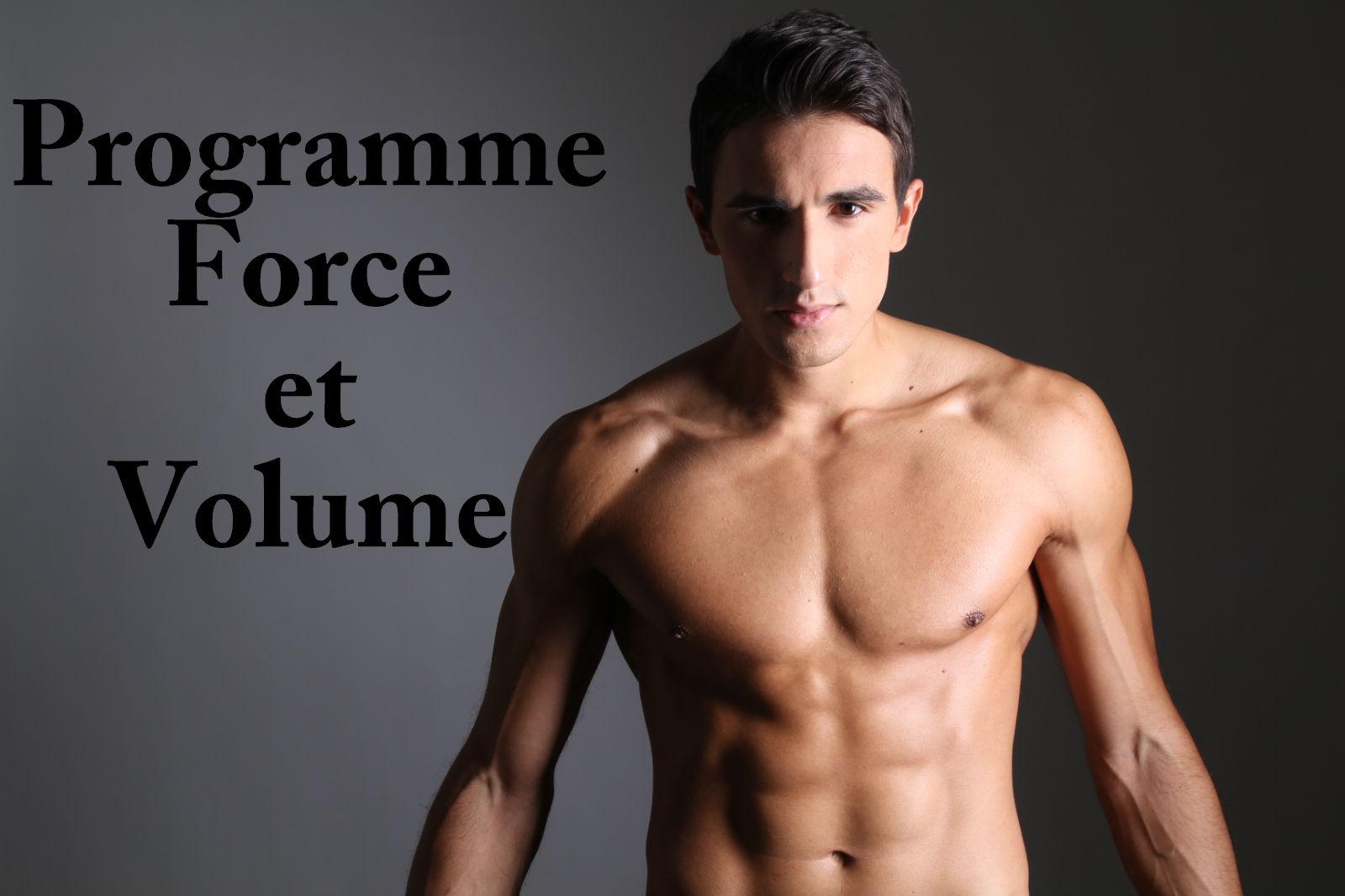 Programme de musculation force et volume | SPARTIATE