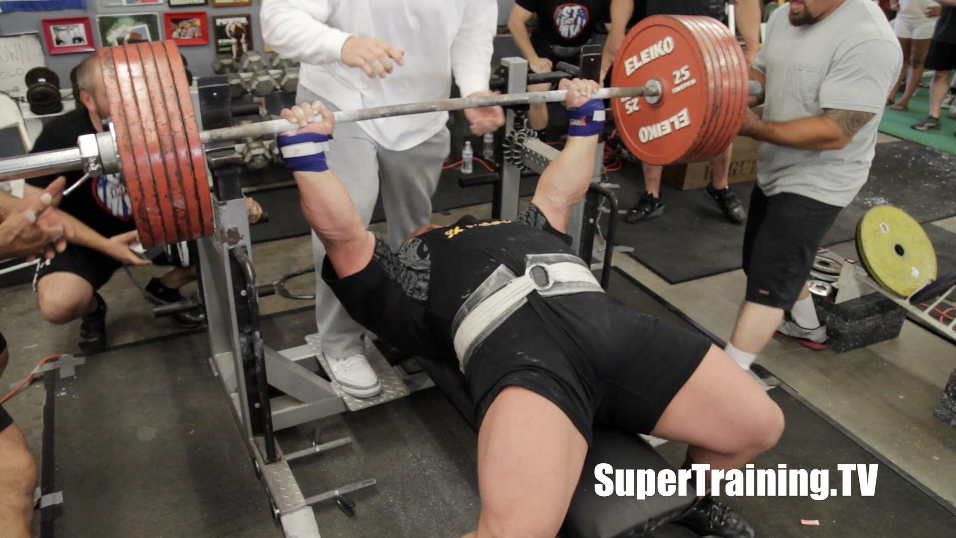 Tous les records du monde de powerlifting force athl tique spartiate musculation - Record du monde developpe couche ...